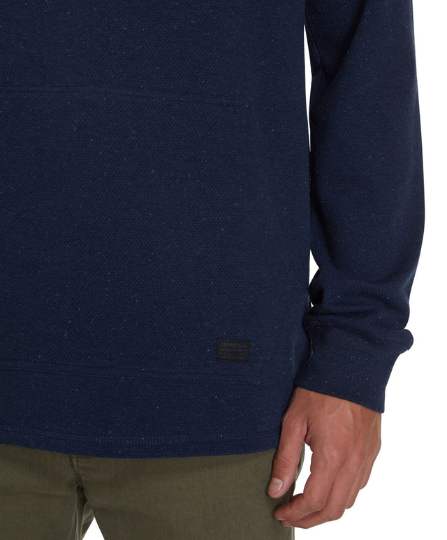 Apollo Knitted Jumper - Blux Heather Navy