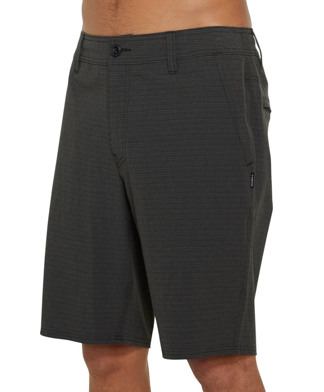 Locked Stripe Hybrid Walkshort - Black
