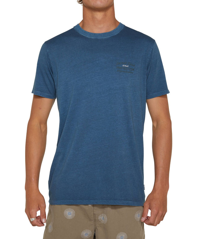 No Names T-Shirt - Sea Blue