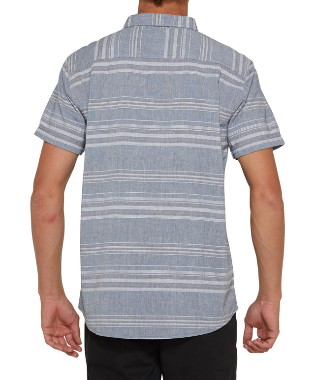 Rivera Short Sleeve Shirt - Light Indigo