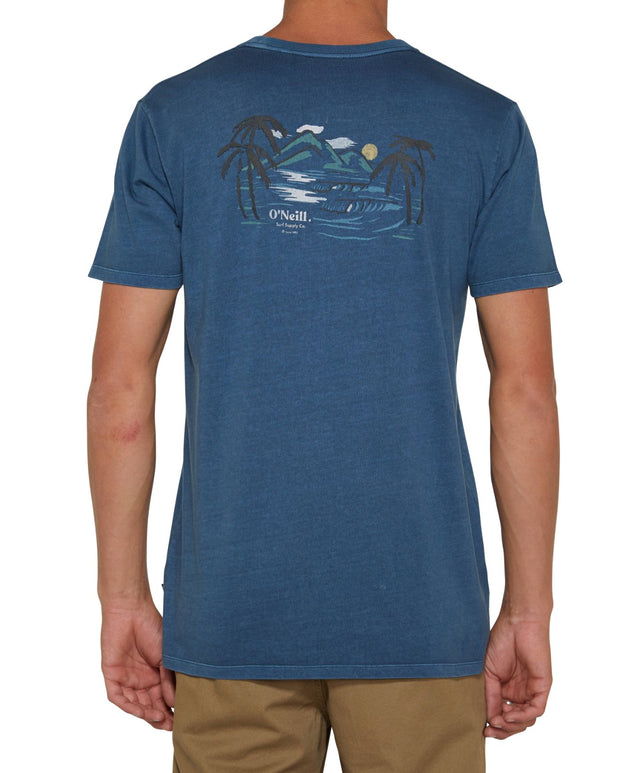 Secret Spots T-Shirt - Sea Blue