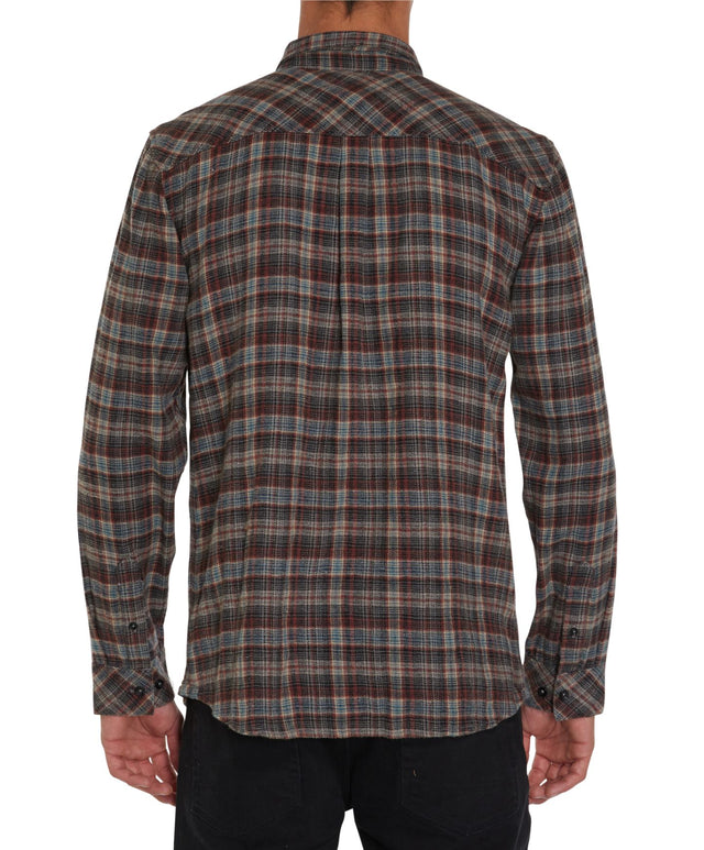 Clint Long Sleeve Shirt - Grey