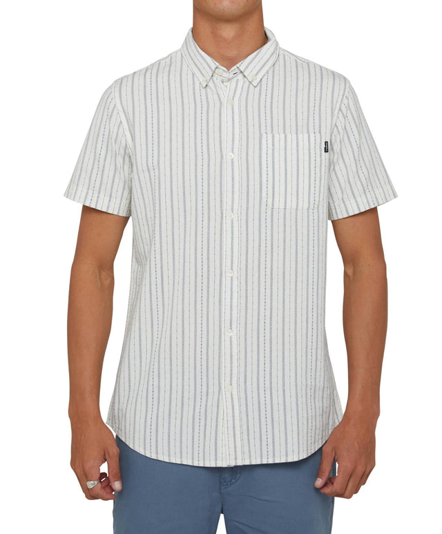 Slausen Short Sleeve Shirt - Bone