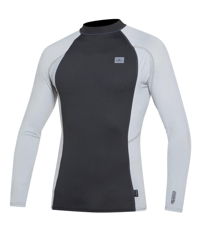 Skins Long Sleeve Rash Vest - Raven