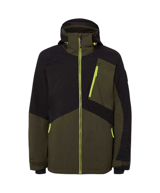 Mens Aplite Snow Jacket - Forest Night