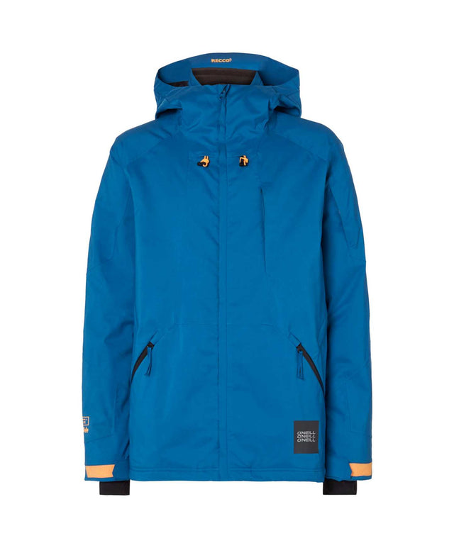 Mens Total Disorder Snow Jacket - Seaport Blue