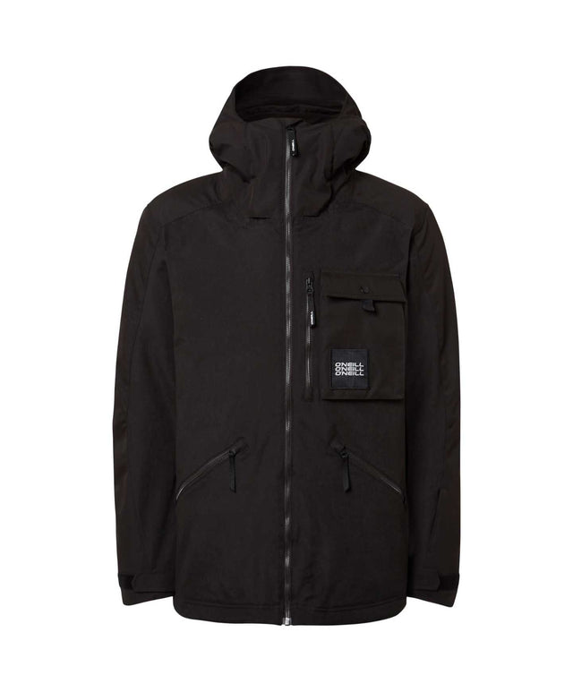 Mens Utlty Snow Jacket - Black Out