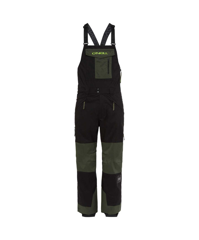 Mens Original Bib Snow Pant - Black Out