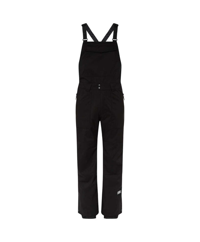 Mens Shred Bib Snow Pant - Black Out