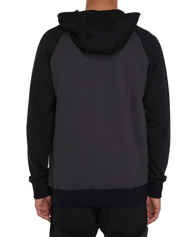 Standard Zip Hoodie - Heather Black