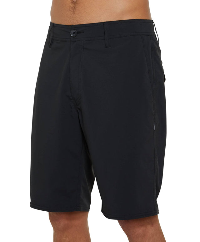 Stockton Hybrid Walkshort - Black