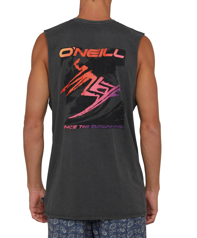 Core Lord Muscle Singlet - Vintage Black
