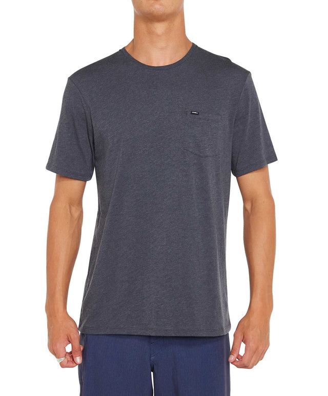 Jacks Base T-Shirt - Asphalt