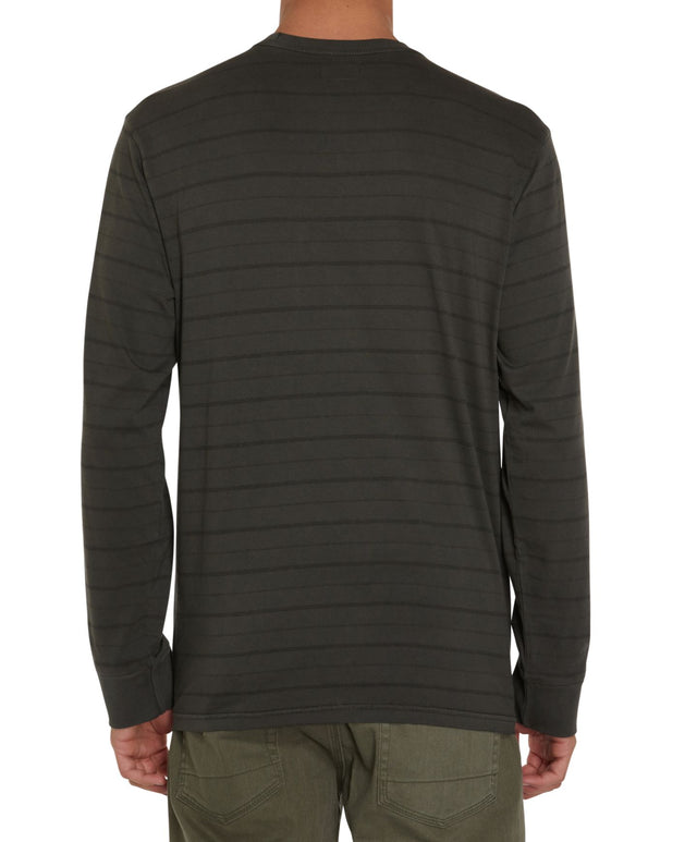 Dinsmore Long Sleeve Crew T-Shirt - Graphite
