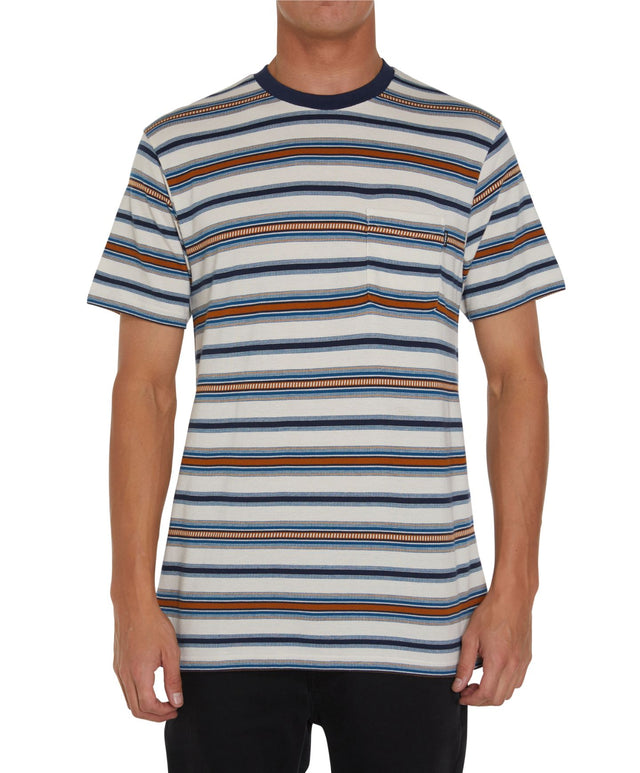 Abbot Short Sleeve T-Shirt - Bone
