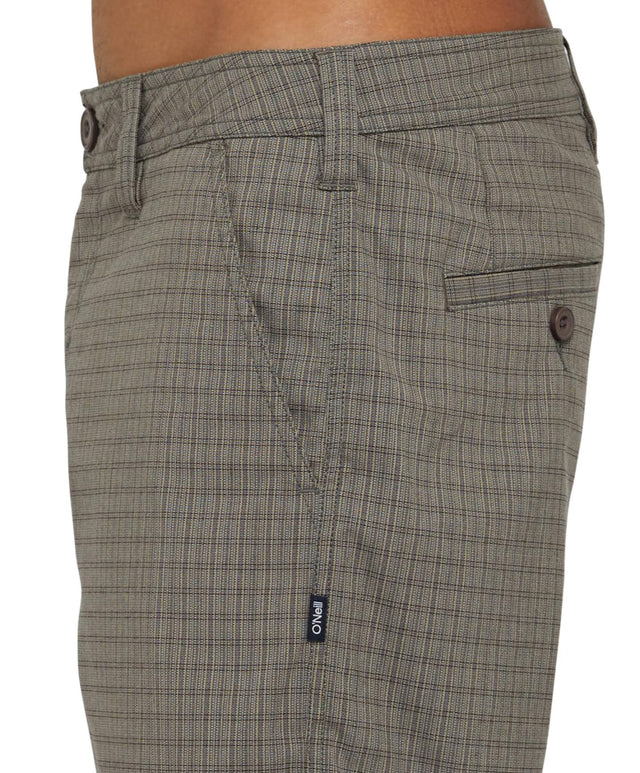 Cassette Walkshort - Tan Plaid