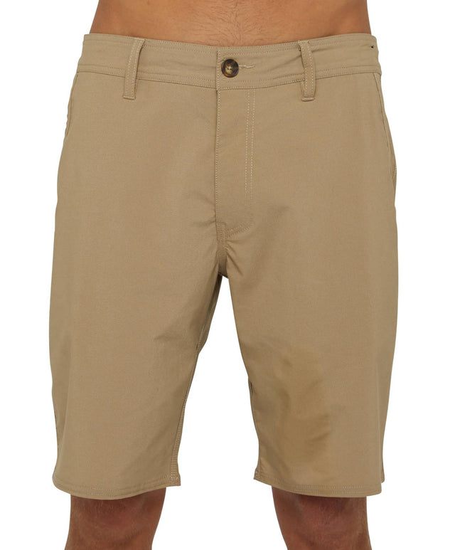 Stockton Hybrid Short - Khaki