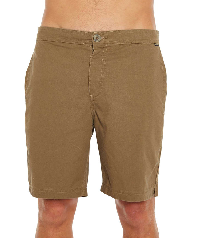 Filter Walk Shorts - Dust Brown