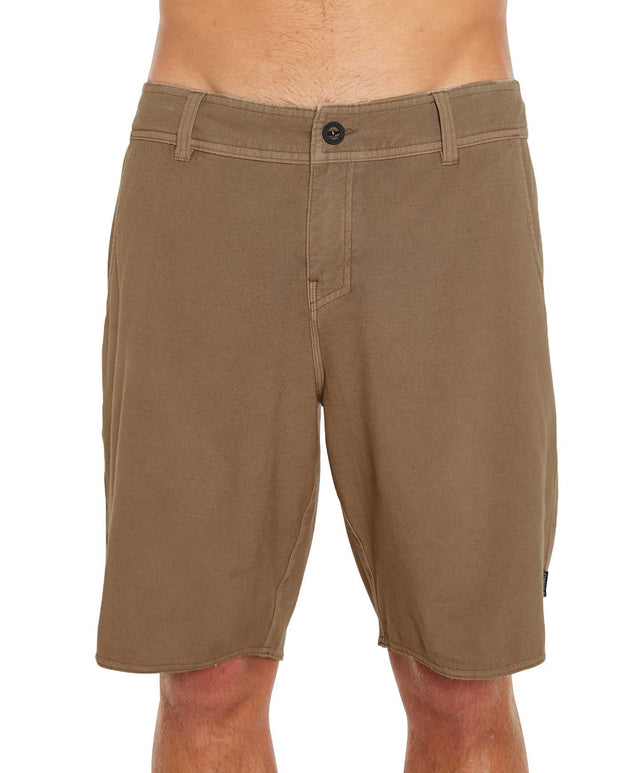 Lock In Hybrid Shorts - Dust Tan