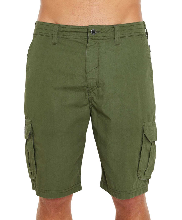 Sierra Cargo Walk Shorts - Hunter Green