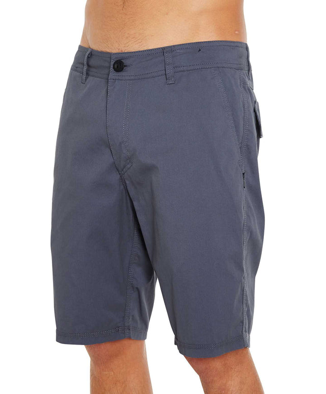 Voyage Walk Shorts - Dusted Blue