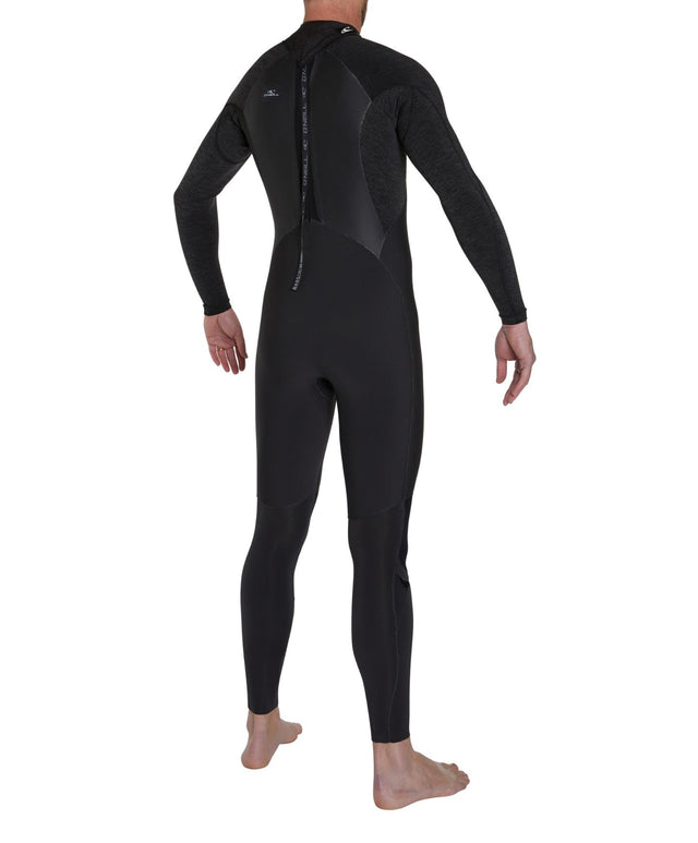Defender 3/2mm Steamer Back Zip Wetsuit - Raven