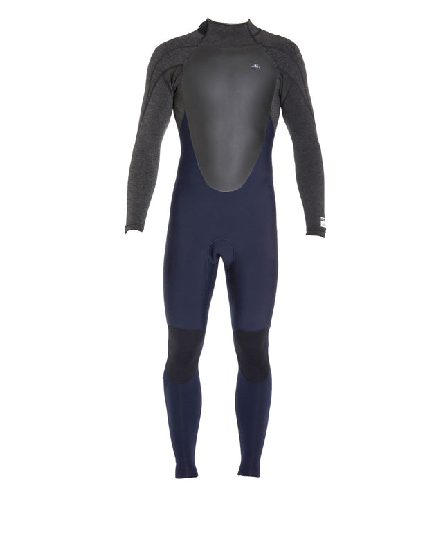 Defender 4/3mm Steamer Back Zip Wetsuit - Abyss