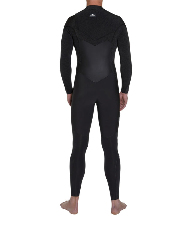 Defender 3/2mm Steamer Chest Zip Wetsuit - Raven