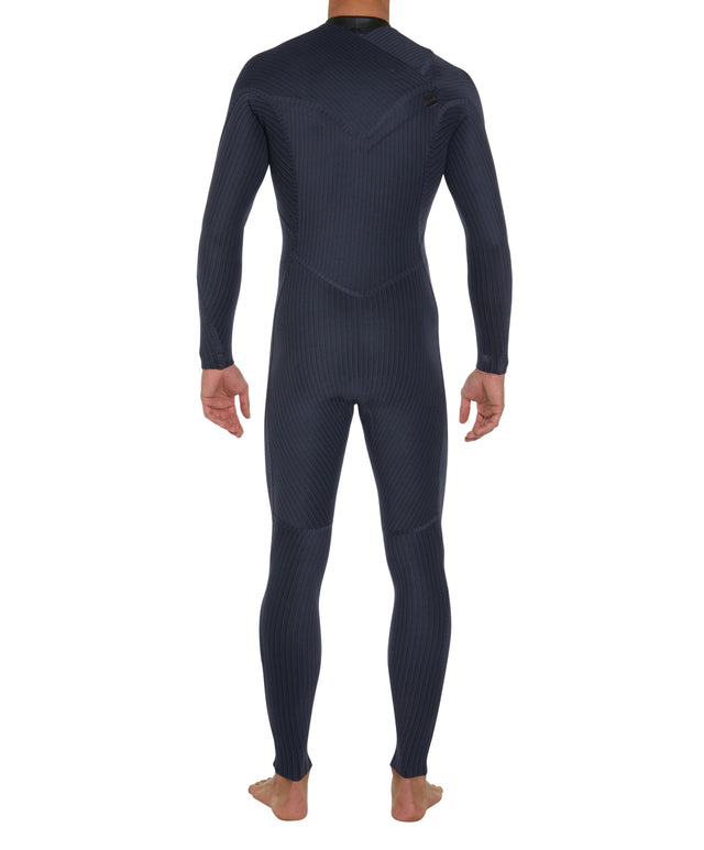 Hyperfreak Zipless Comp 3/2mm Steamer Wetsuit - Black/Graphite