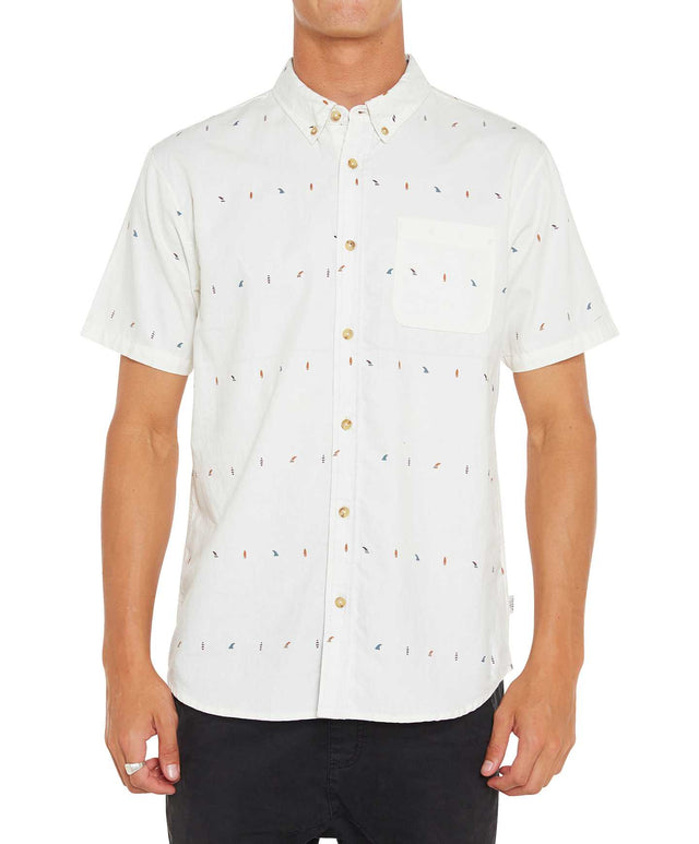 Boardroom Short Sleeve Shirt - Natural