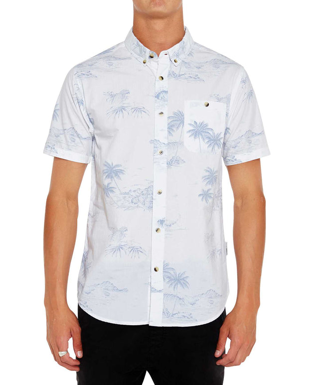 Charter Short Sleeve Shirt - White