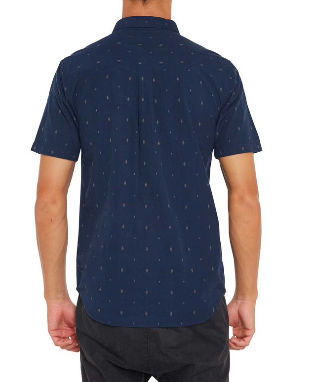 Ensenada Short Sleeve Shirt - Navy Night