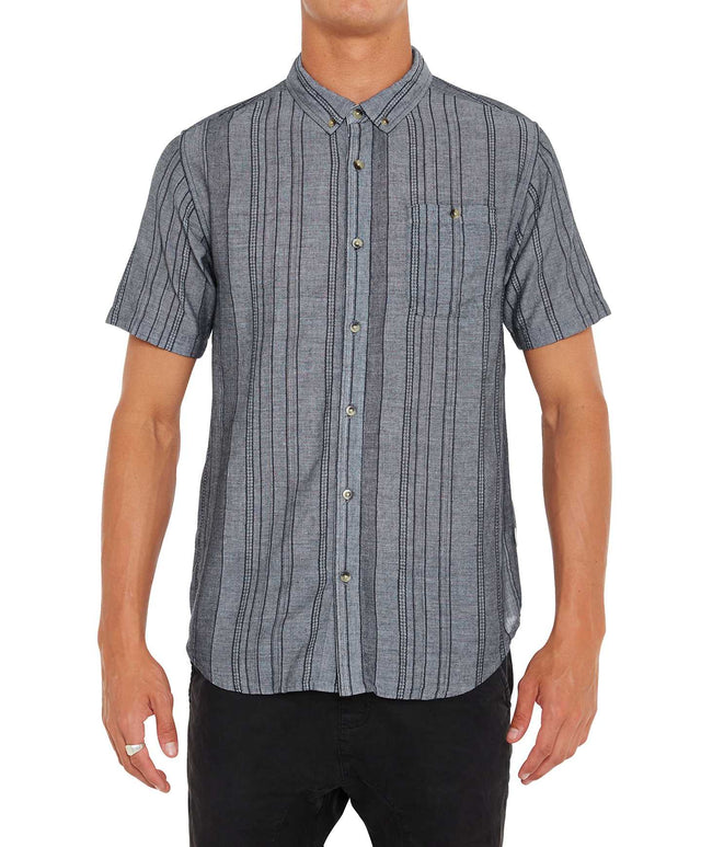 Fuego Short Sleeve Shirt - Grey