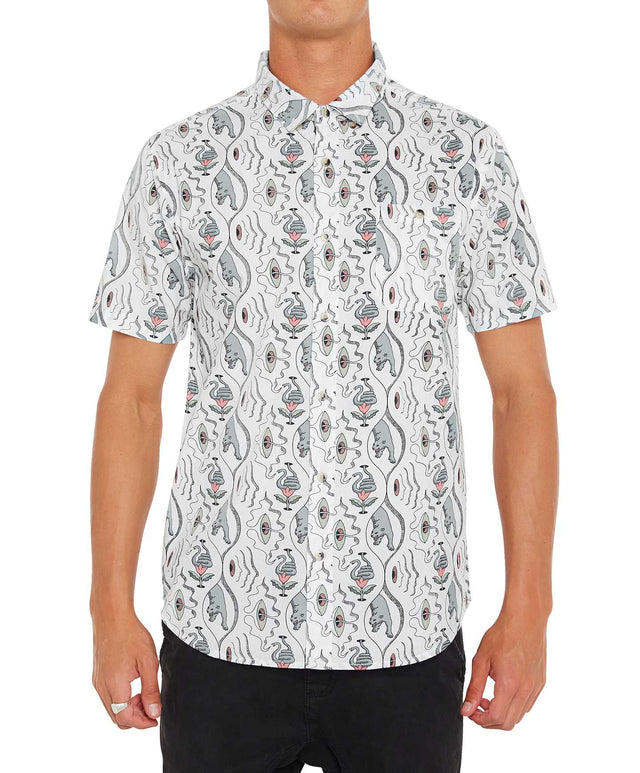 Subliminal Short Sleeve Shirt - Super White