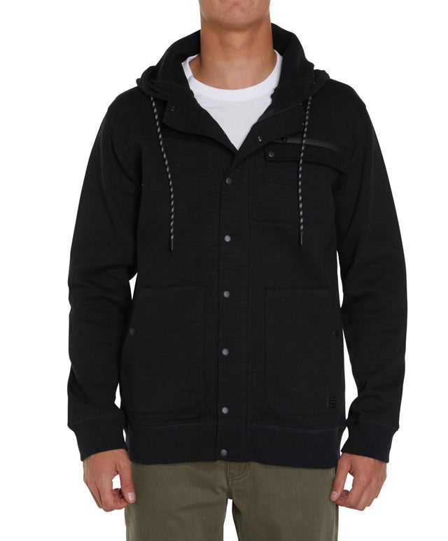 Barrier Superfleece Zip Hoodie - Charcoal