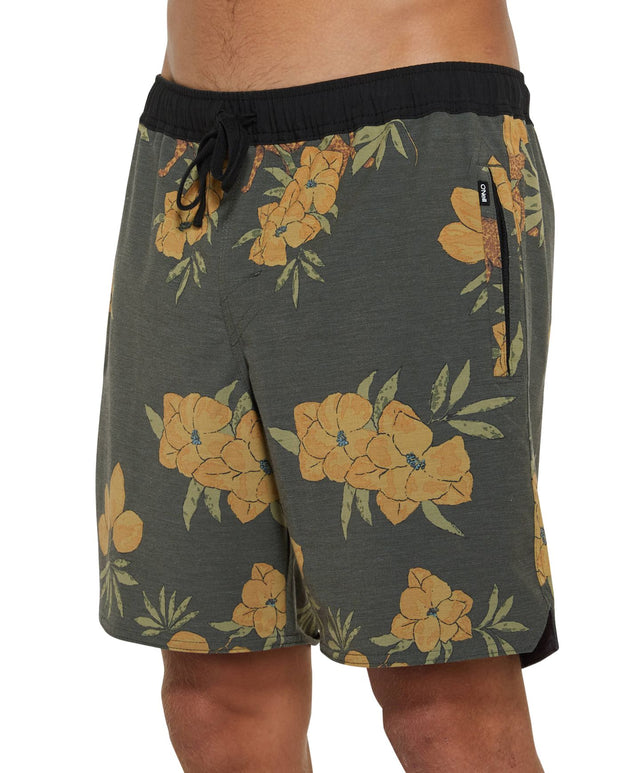 Zulu Switch Slacker Shorts - Olive/Black