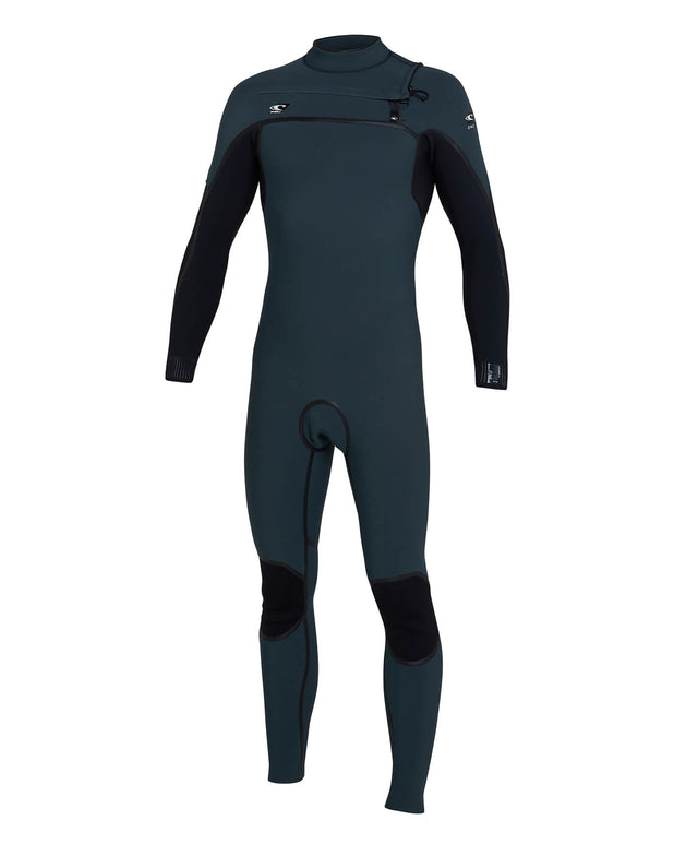 Psycho One 3/2mm Steamer Chest Zip Wetsuit - Ghost Green/Black