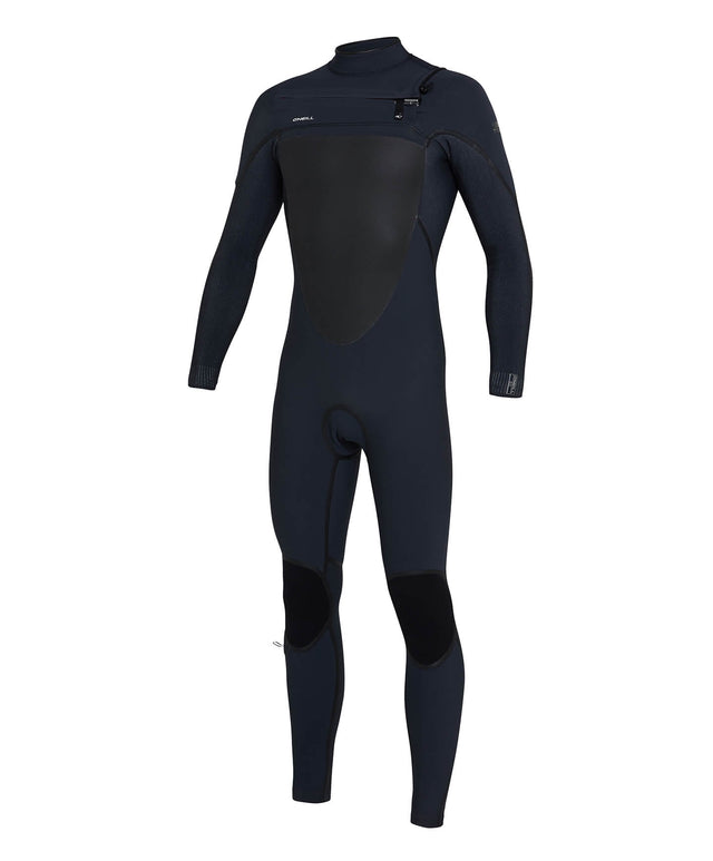 Psycho Tech 3/2mm Steamer Chest Zip Wetsuit - Gunmetal/Acidwash