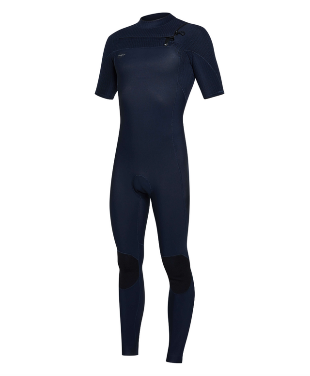 Hyperfreak 2mm Short Arm Steamer Chest Zip Wetsuit - Abyss