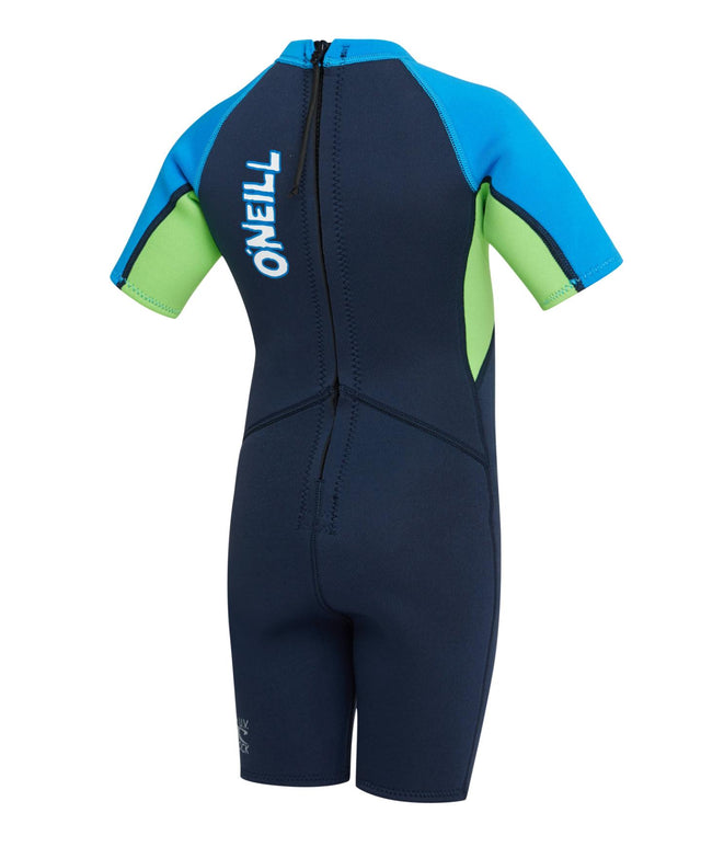 Toddler Reactor Spring Suit Wetsuit - Abyss