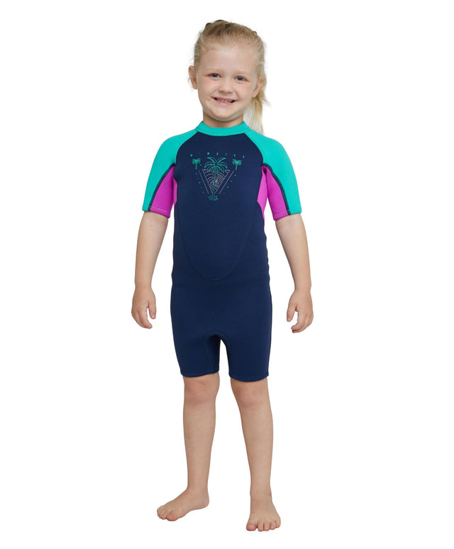 Toddler Reactor Spring Suit Wetsuit - Navy