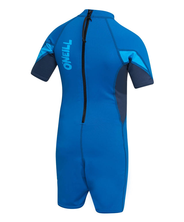 Toddler O'Zone Short Sleeve UV Spring Rash Suit - Ultra Blue