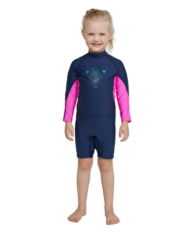 Toddler O'Zone Long Sleeve UV Spring Rash Suit - Navy
