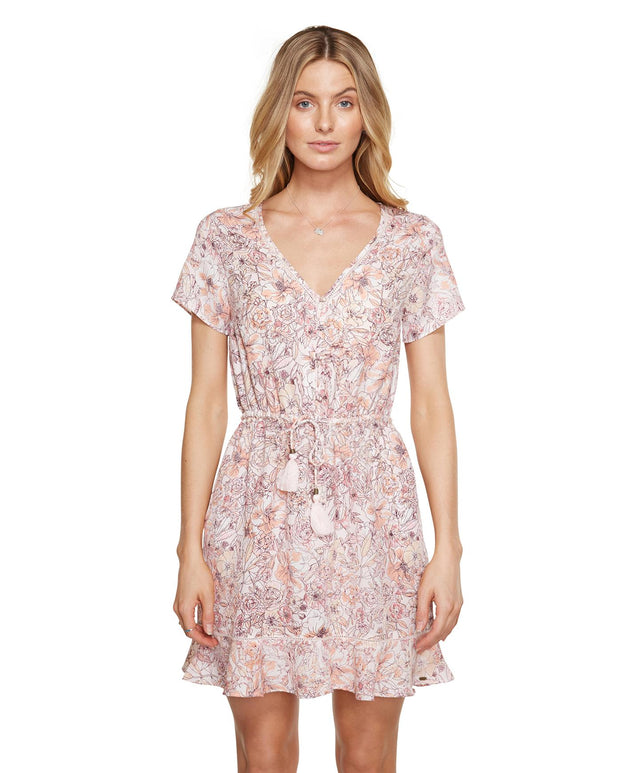 Neverland Dress - Pearl Floral