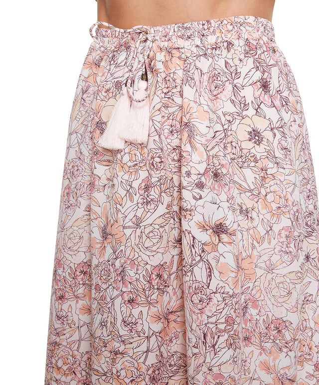 Springs Skirt - Pearl Floral