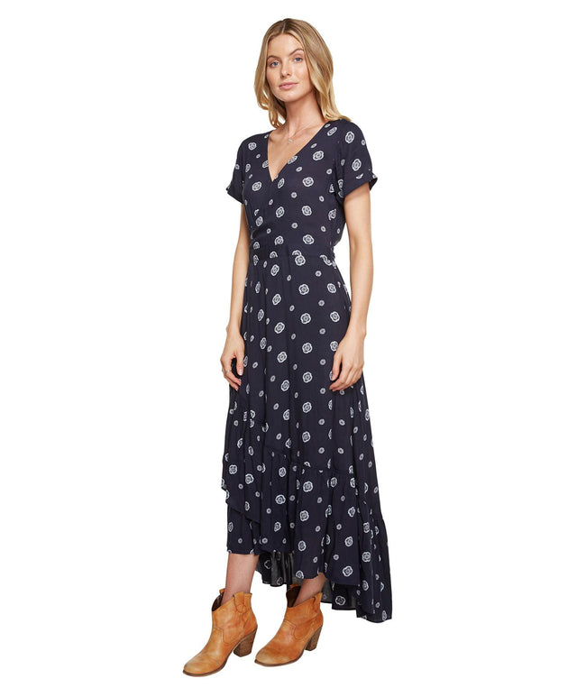 Vista Dress - Ebony Spot