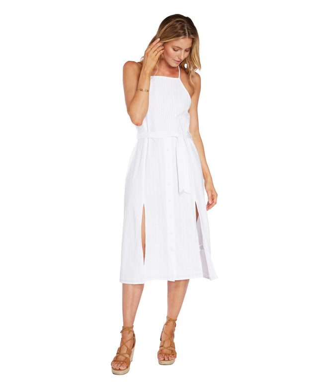 Mayfield Dress - White Out