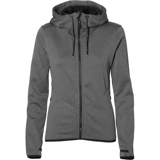 Hoodie Fleece - Dark Grey Mel