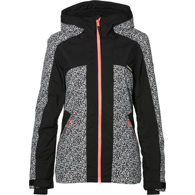 Allure Jacket - White Aop With Black