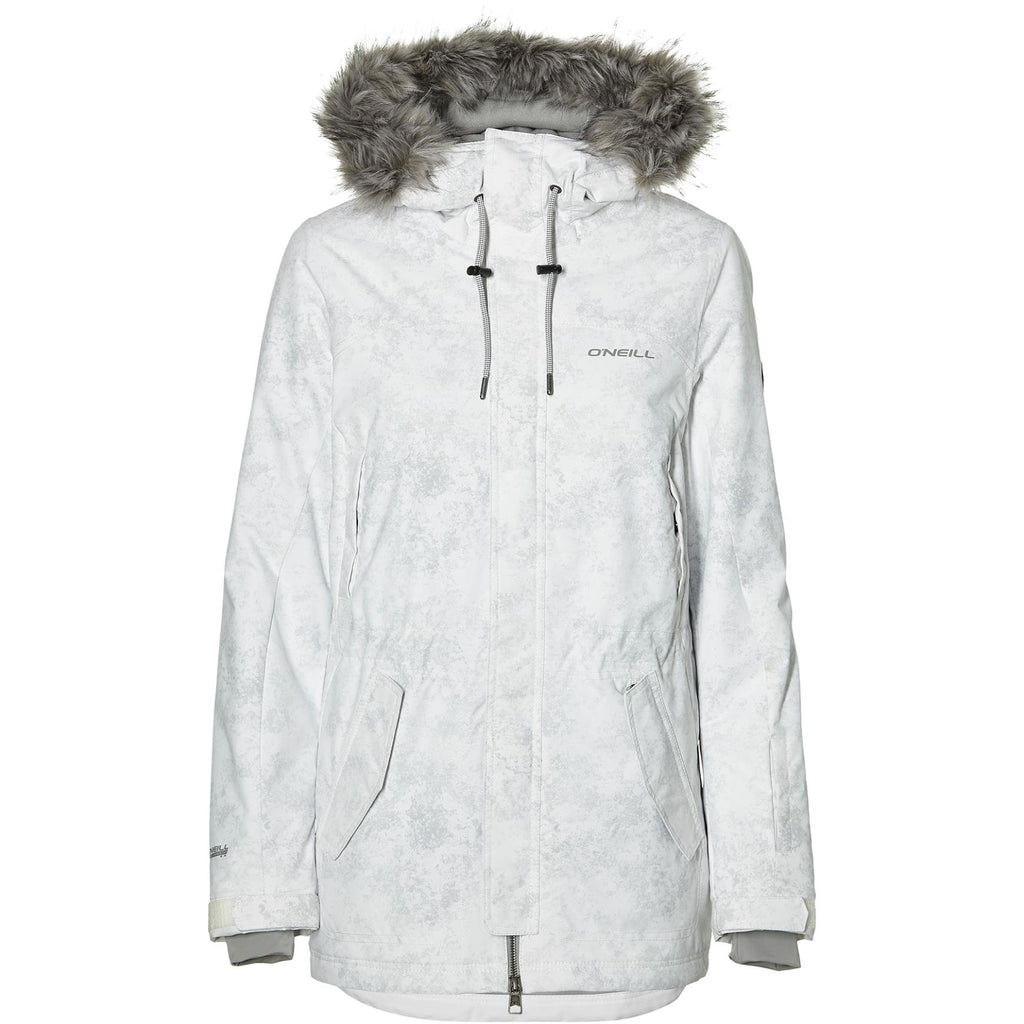 With Jacket Grey Cluster III Aop White ZPXiuk